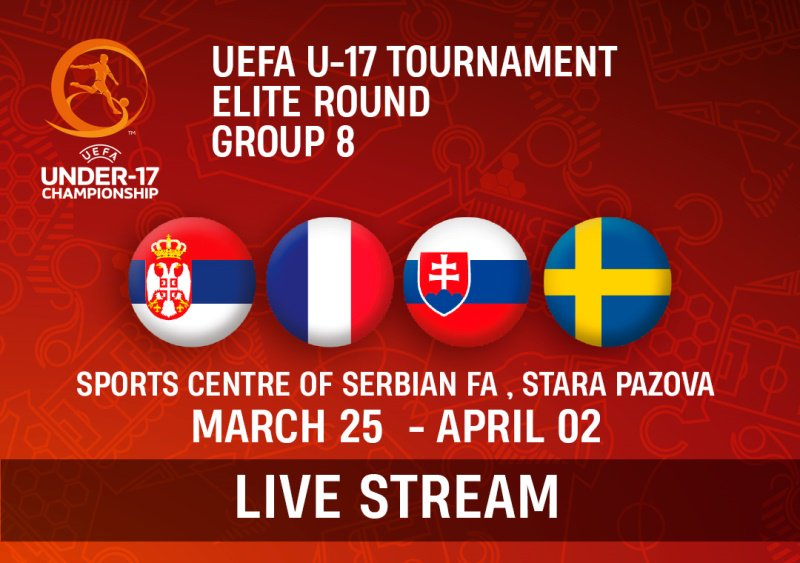 UEFA U-17 TOURNAMENT ELITE ROUND GROUP 8